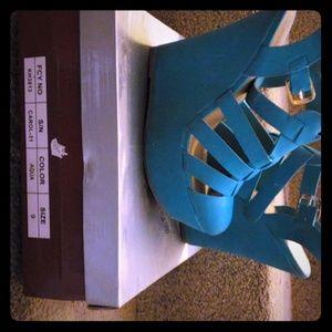 5.5 inch wedge heels
